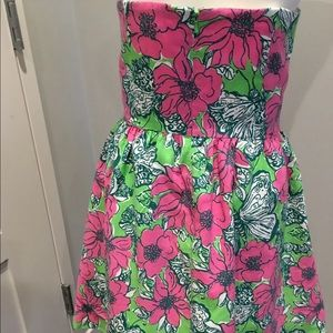 Lilly Pulitzer Dresses - Lily Pulitzer Strapless Dress
